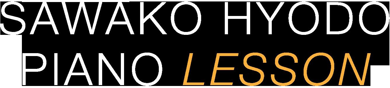 SAWAKO HYODO PIANO LESSON
